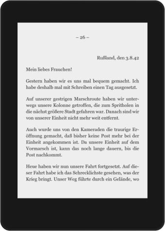 3. August 1942 – Brief